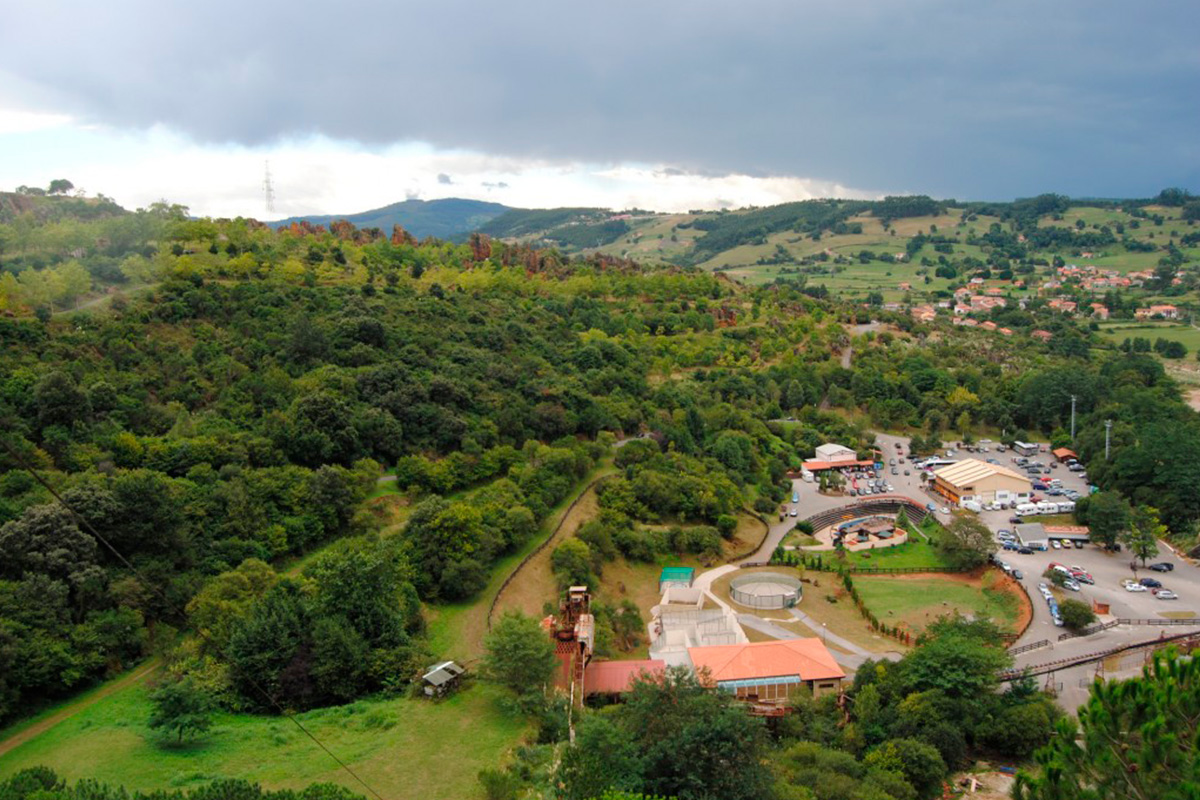 Imagen panorámica de paisaje en Villaescusa