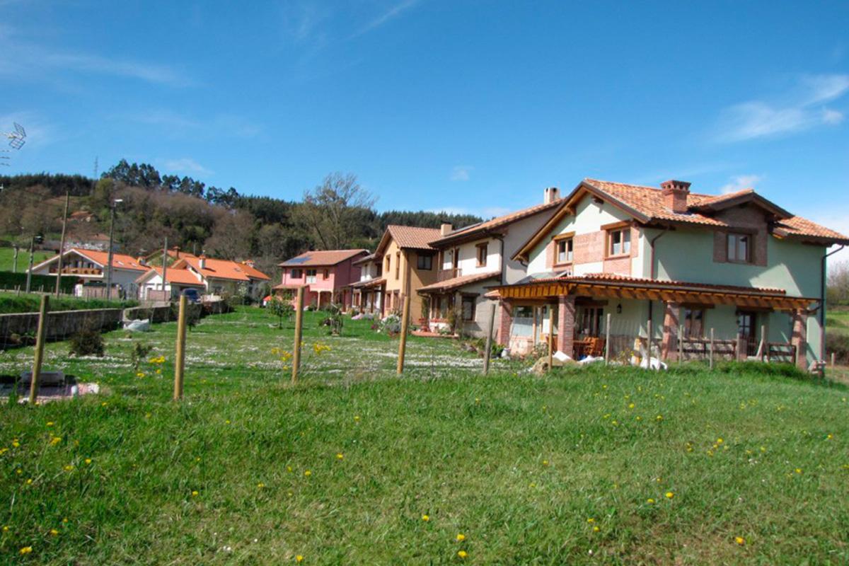 Imagen conjunto de casas en Villaescusa