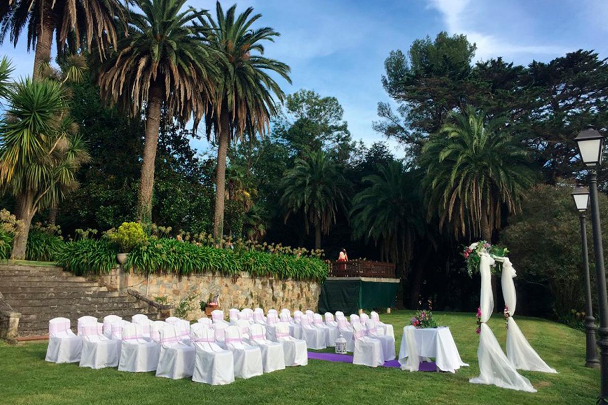 Imagen lugar de celebración de una boda