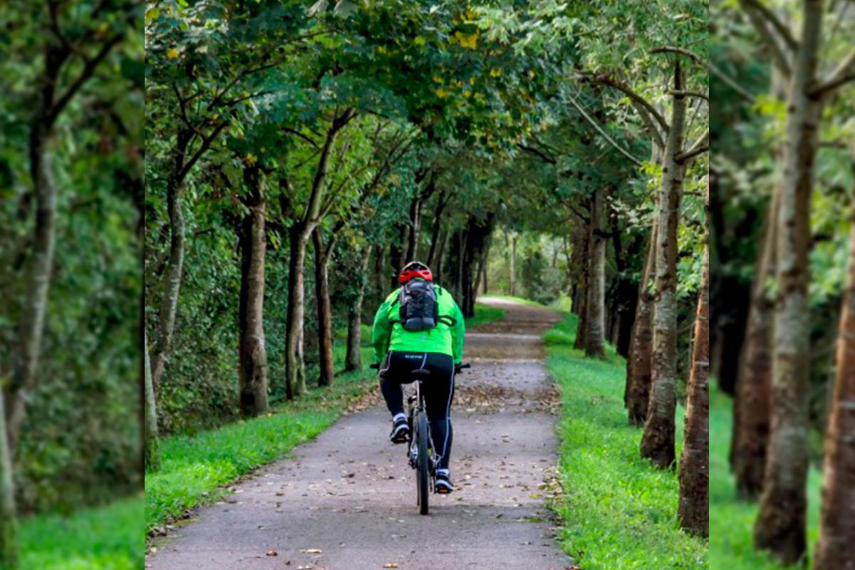 Imagen ciclista en Villaesusa