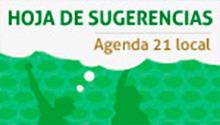 Imagen de acceso a Hoja de sugerencias Agenda 21
