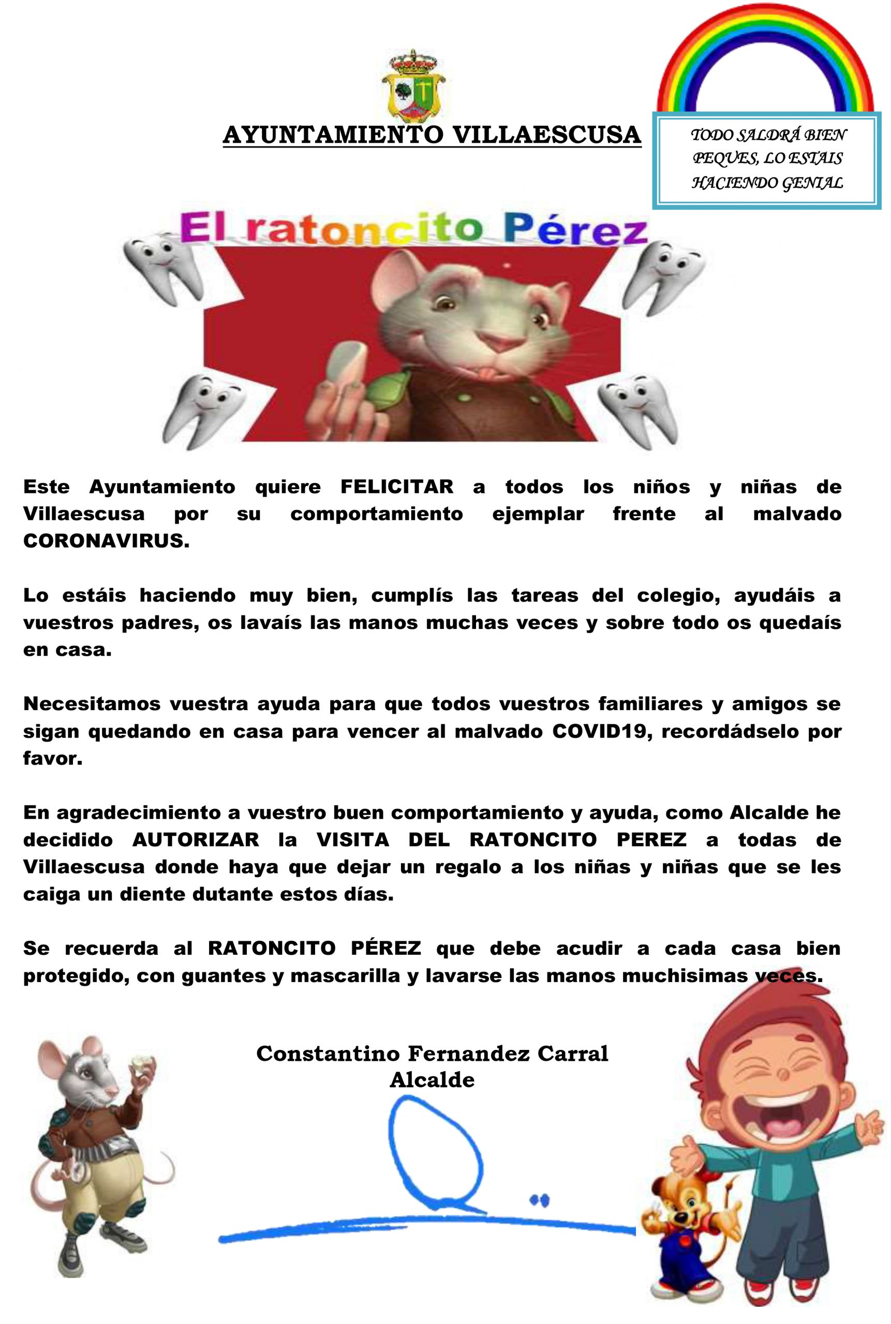 Cartel Ratoncito Pérez