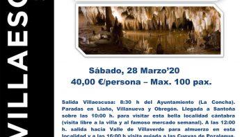 Cartel excursión Santoña Carranza