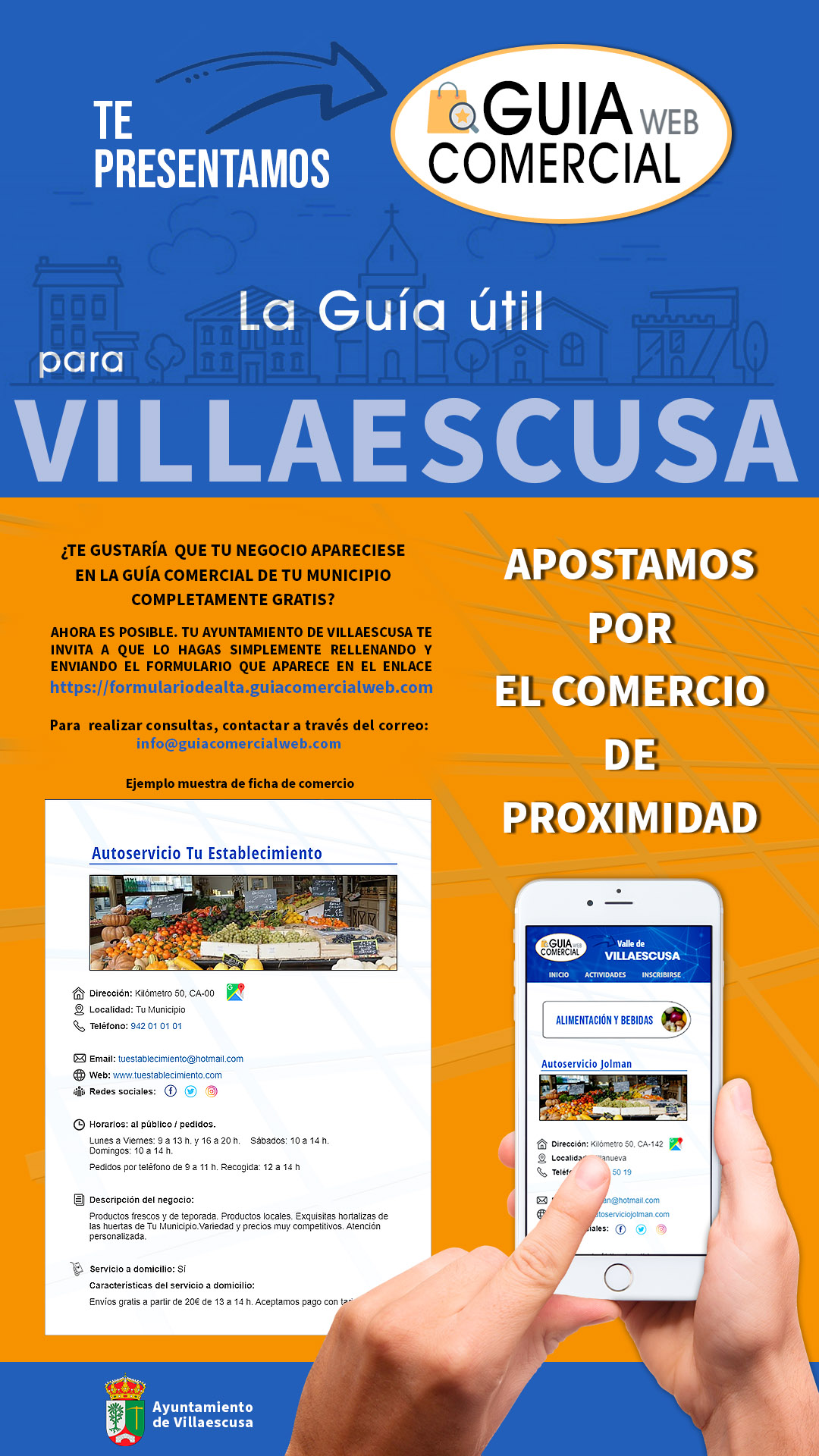 Cartel publicidad digital