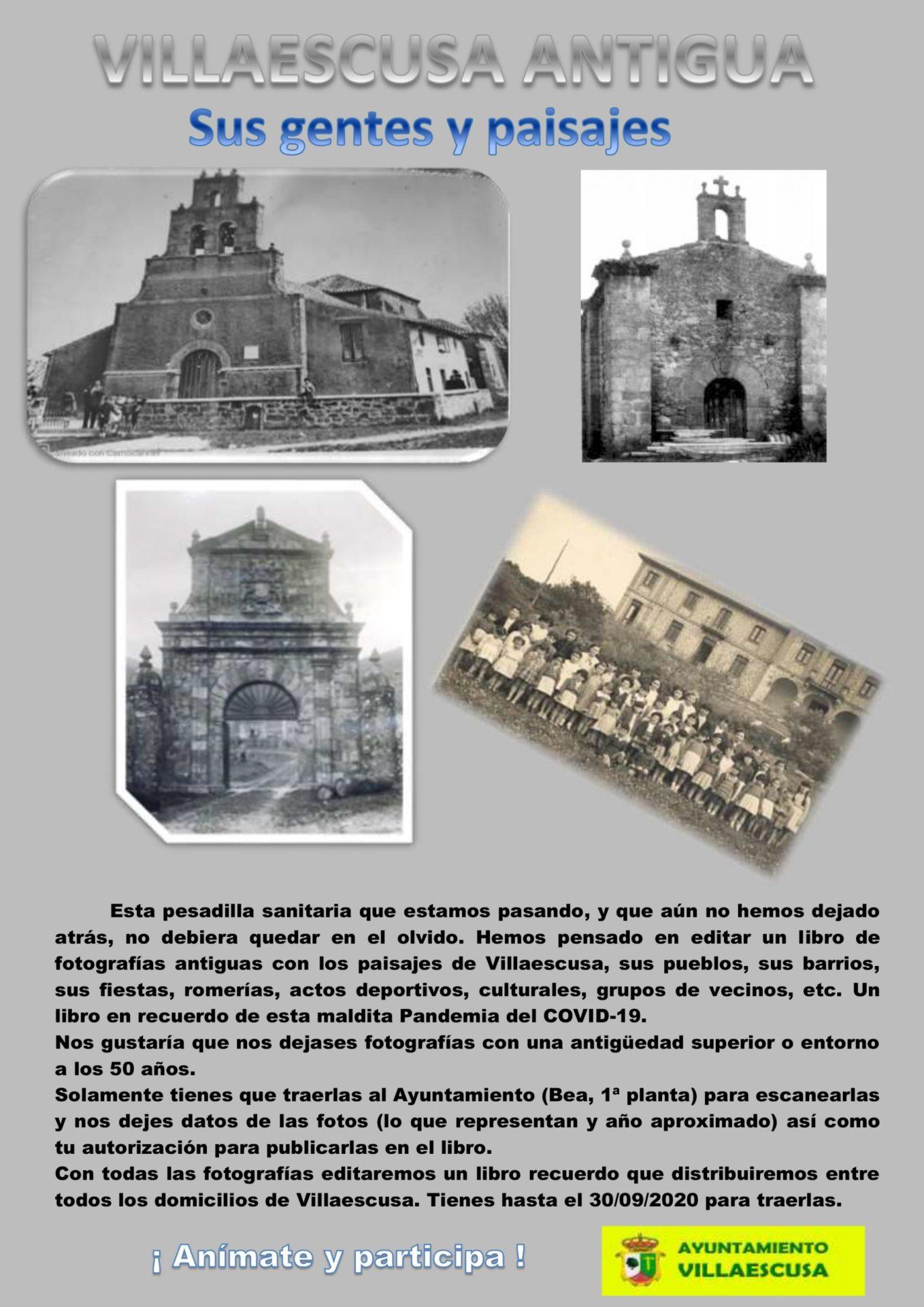 Cartel Villaescusa antigua
