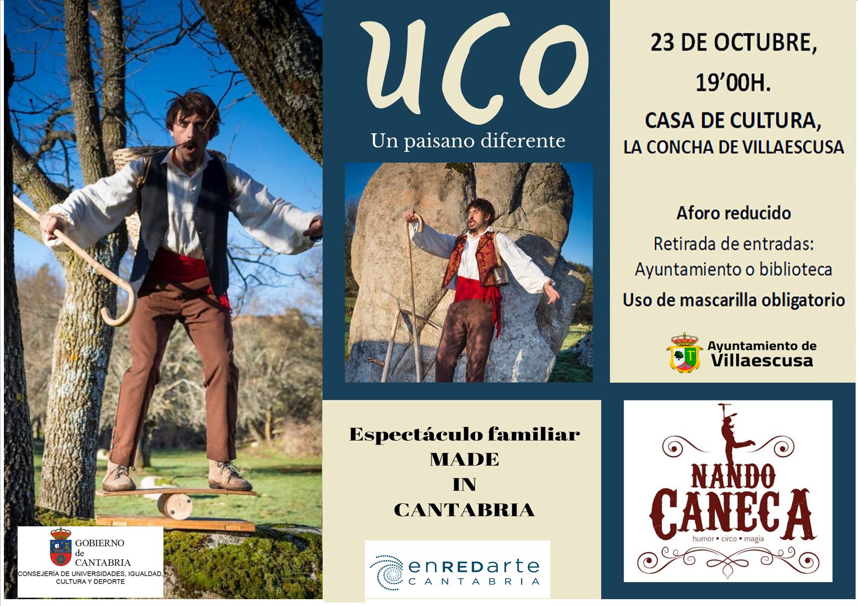 Cartel Nando Caneca