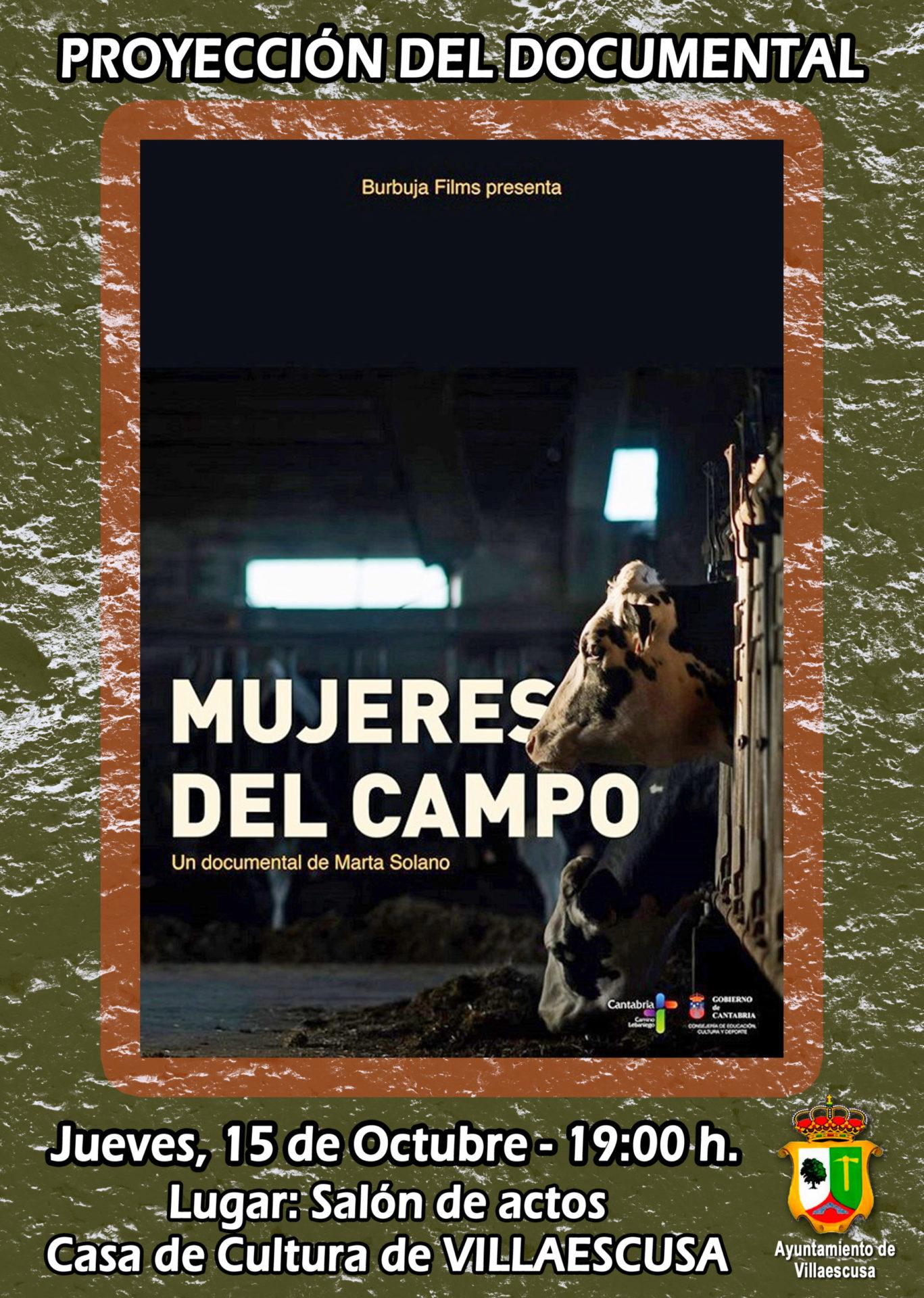 Cartel Mujeres del Campo